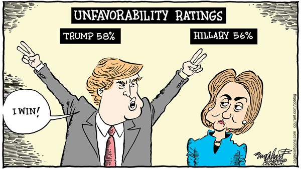 Trump Beating Clinton? Should we start to worry? | News ...